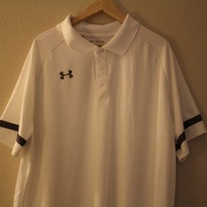 Under Armour white sports XXL shirt